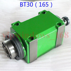 Bt30 Taper Spindle Unit 7 24 Power Head 3000 6000 8000rpm drawbar For Drill Mill
