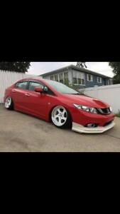 For Honda Civic Fb Front Lip Body Kit Bodykit 2012 2015 Jdm