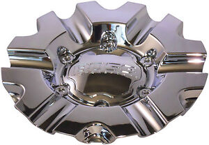 New Boss Motorsports 331 Wheel Rim Center Cap Acc 3215 06 Snap In Chrome