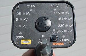 Ab Chance C4033374 Voltage Indicator 69 Kv Auto Ranging Led Model