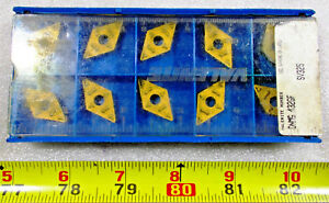 New Valenite Dnmg 432gf Grade Sv325 Indexable Carbide Lathe Insert 10 Inserts