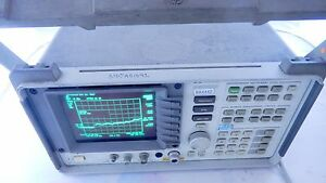 Hp agilent 8592b spectrum analyzer 9khz 22ghz