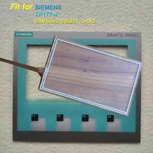 Touch Panel Glass Membrane Keypad For Siemens Tp177 4 6av6642 0bd01 3ax0