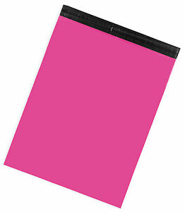 Hot Pink X large Poly Mailers 19x24 Pack Of 50