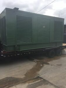 Industrial Generators 1100 Kw Detroit Diesel Generator Weather Encl 2 Units