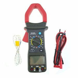 Mastech Ms2000g Digital Clamp Meter Current Resistance Temperature Tester