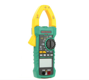 Mastech Ms2015b Digital Clamp Meter Multimeter Resistance Temperature Ncv Test