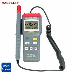 Mastech Ms6503 High Accuracy Digital Thermo hygrometer Temperature Tester