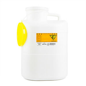 Sharps Container 53 4 Gallon 152mm Opening 4 Pk