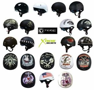 Torc T 55 Spec Ops Helmet Inner Sun Shield Half Shorty Naked DOT XS 2XL $74.99