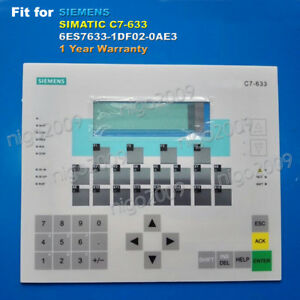 Membrane Keypad For Siemens Simatic C7 633 6es7633 1df02 0ae3 Control Panel