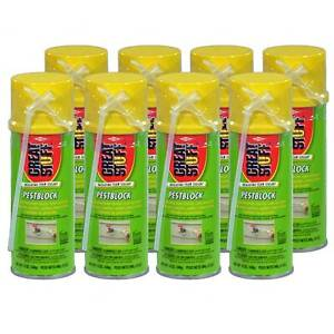 Dow Great Stuff Pestblock Insulating Foam Sealant 12 Oz Case Of 8 Cans