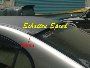 Unpainted Byw Roof Spoiler Sport Wing For Ford Mustang Gt500 Coupe 2005 2013