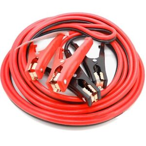 20ft 2 Ga New Booster Jumper Cables Auto Car Jumping Cables Heavy Duty Gauge