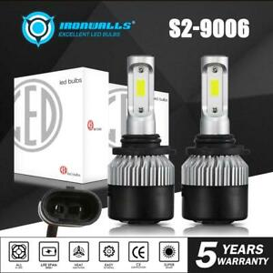 9006 Hb4 Cree 1300w 195000lm Led Headlight Kit Bulb 6500k High Power Vs 120w Hid