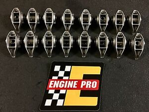 Chevy Gm Rocker Arms Set W Engine Pro Bronze Bushing Kit Installed Ls Ls2 Lq9