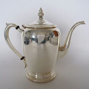 Fb Rogers Co Teapot Silverplate Vintage C 1904 1955 Pattern 1211 30 Ounces