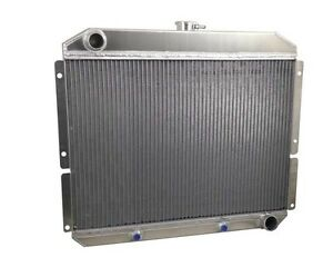 1957 1959 Studebaker Silverhawk Golden Hawk M T Aluminum Radiator Usa Made