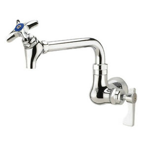 Krowne Metal 16 178l Royal Single Wall Mount Pot Filler Faucet 6 Spout