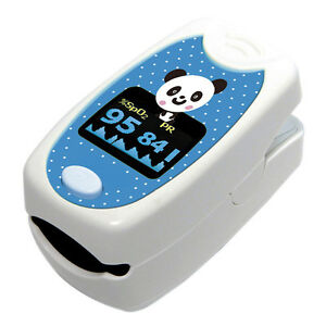 Finger Pulse Oximeter Pediatric Panda