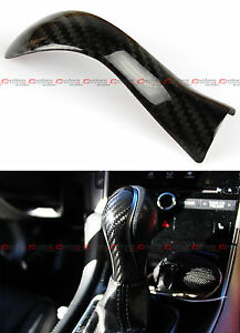 For 2015 17 Infiniti Q50 Q50s Direct Add On Carbon Fiber Shift Knob Cover Accent