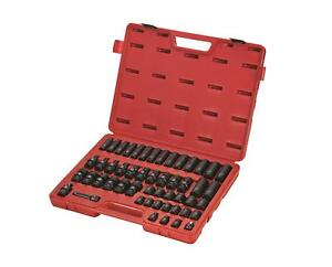 Sunex 3351 3 8 Dr 51pc Metric Impact Socket Set