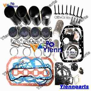 4bd2 4bd2t Overhaul Rebuild Kit For Isuzu Engine Npr Elf Nqr Truck Piston Gasket
