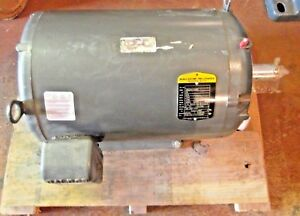 Baldor 20hp Electric Motor 575 Vac 256tc Frame 1760 Rpm