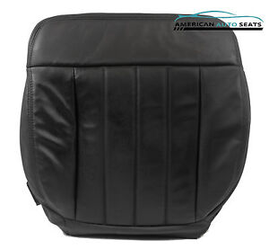 2006 F150 Harley davidson Supercharged driver Bottom Leather Seat Cover Black