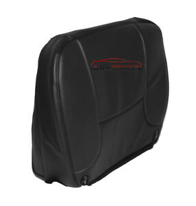 2004 Dodge Ram 3500 Base Work Truck Driver Bottom Vinyl Seat Cover Dark Gray