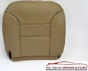 95 99 Chevy Suburban Tahoe 2500 Lt Ls Leather Driver Side Bottom Seat Cover Tan