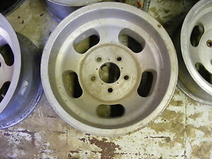 Indy Mac Jelly Bean Slotted Mag 15x8 5 5x4 3 4 Bolt Pattern One 1 Wheel