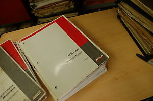 Case L130 Front End Loader Owner Operator Operation Manual Book Tractor Guide
