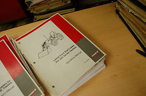 Case Lx232 Front End Loader Owner Operator Operation Manual Jcx Series Tractor