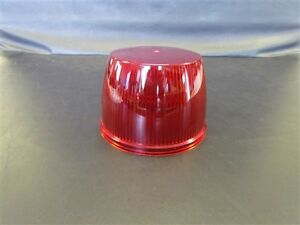 Whelen Red Optic Dome Lens D 80347 68 2180347 50 Ss360