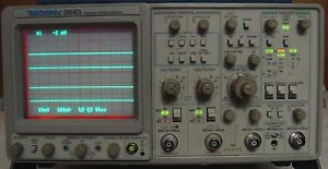 Tektronix 2445 150 Mhz Oscilloscope W Manuals Calibrated