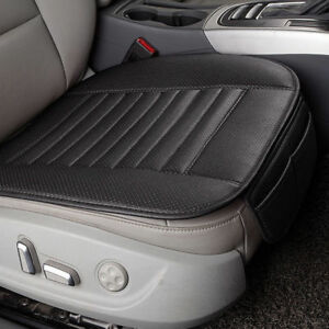 Car Seat Cover Pad Mat Cushion Pu Leather Bamboo Charcoal Portable Breathable Us
