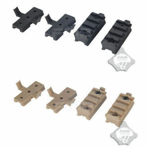 FMA TB293 Plastic Rail Wing Lock Flashlight Mount BK DE Set For OPS Helmet Rail $5.69
