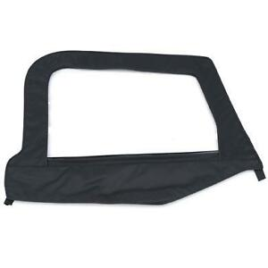 Jeep Wrangler Tj Passenger Upper Door Skin With Frame Black Denim 97 06 79515