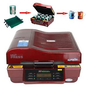3d Multifunction Vacuum Heat Press Printing Printer Machine Sublimation Transfer