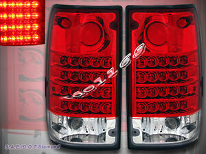 1989 1995 Toyota Pickup l e d Tail Lights Led Pair With Reverse Bulbs