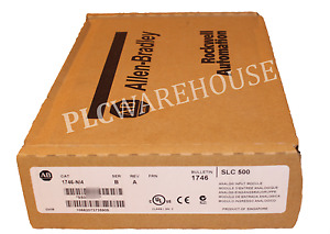New Sealed Allen Bradley 1746 ni4 Series B Slc 500 Analog Input Module