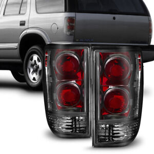 Smoked Tail Light For 95 05 Chevy Blazer Gmc Jimmy Bravada Tail Lamp Replacement