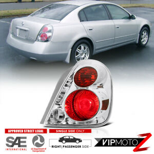 For 2005 2006 Nissan Altima right Passenger Side Tail Light Lamp Chrome Clear