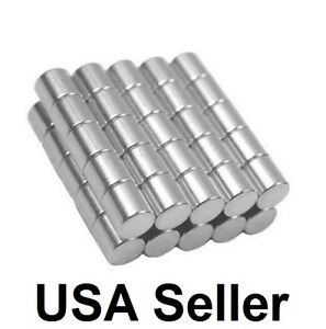 5 16 X 5 16 Inch Strong Neodymium Rare Earth Cylinder Magnets N48 Wholesale