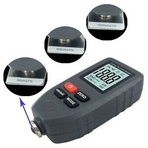 Portable Digital Lcd Paint Coating Thickness Tester Gauge Meter Instrument
