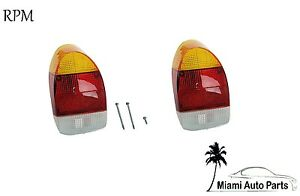 Left And Right 2 New Rear Tail Light Lamp Lens Set Pair For Volkswagen Vw Beetle