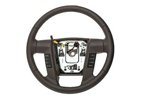 2009 2010 Ford F 150 Steering Wheel Dusk Grey Leather Oem New 9l3z 3600 Bd
