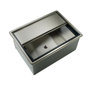 Krowne Metal D2712 10 27 Drop in Ice Bin W 73 Lb Ice Capacity W Cold Plate