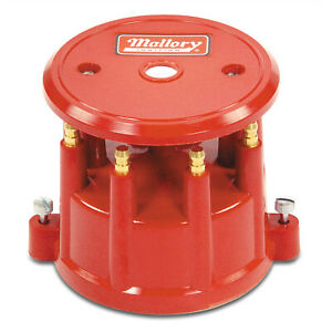 Mallory 208m Distributor Cap Cap Dist 8cyl Screw Down R